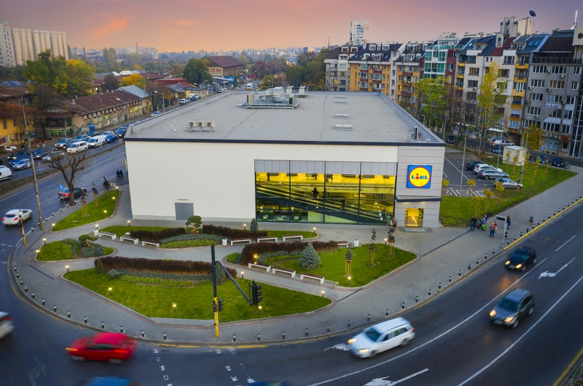 LIDL SUPERMARKET WITH BAKERY, OUTDOOR PARKING AND SUBSTATION