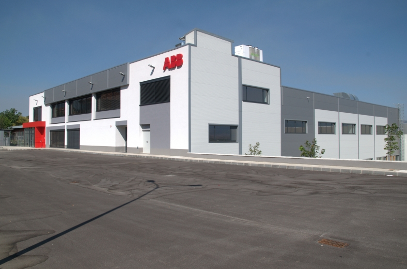ABB - production base for low voltage products    Type a message