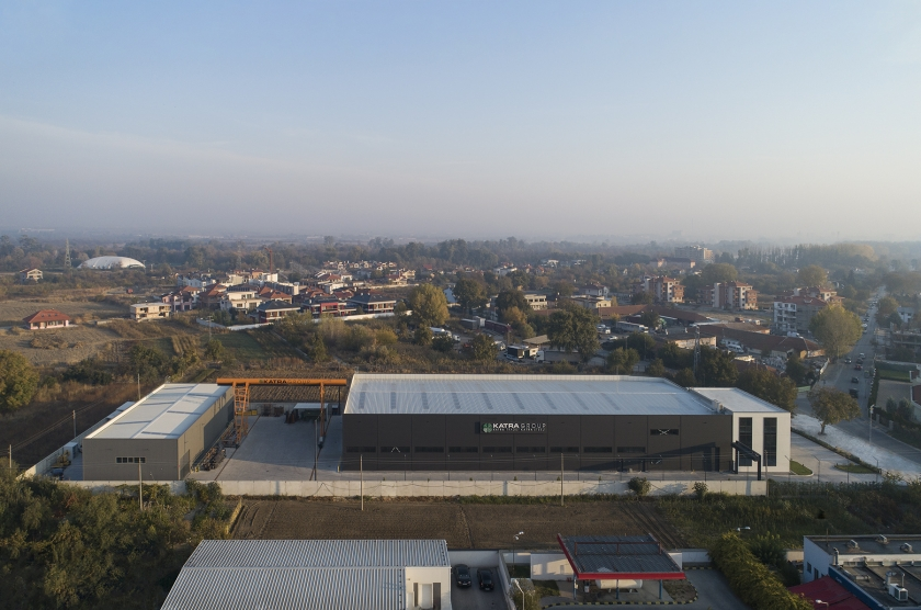 Production and administrative facility of Katra Group; Steel products manufacturing plant