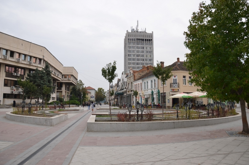 """""""Reconstruction of the central pedestrian zone """""""