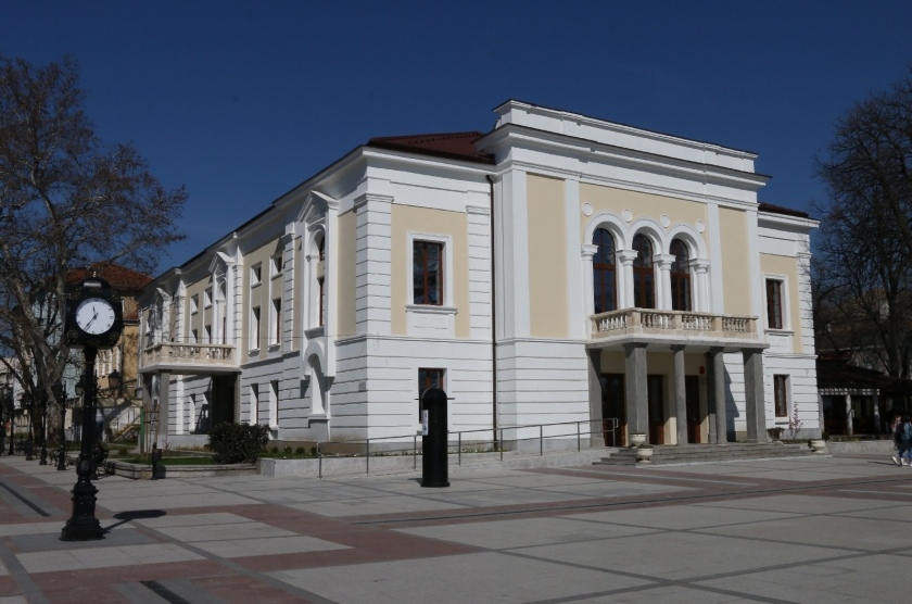 """""""Conservation, restoration and exhibition of the building of the Municipal Drama Theater """"""""Vida"""""""" and shaping the surrounding area  """""""