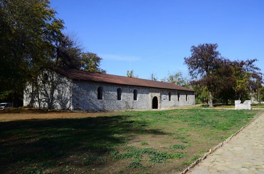 Conservation and restoration of a Turkish storehouse in the area of  Baba Vida Fortress and its adaptation as Archaeological Museum - Epigraphic Center