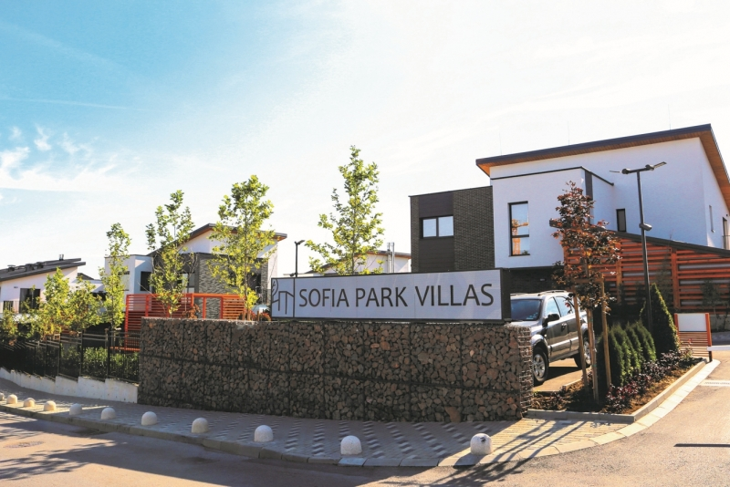 Sofia Park Villas single family residential complex