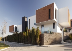 Four Residential Buildings with swimming pools - Gentle House 3