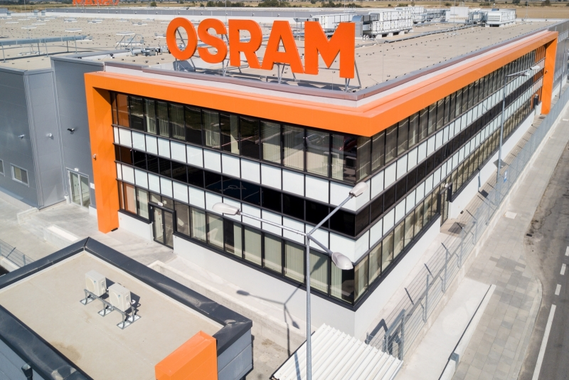 Production Facility for Electronic Devices Osram